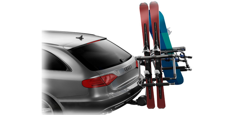 Nosači skija na eurokuku