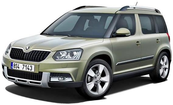 Škoda Yeti 2014-