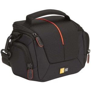 Case Logic Holster camcorder kit bag, black/red DCB305K