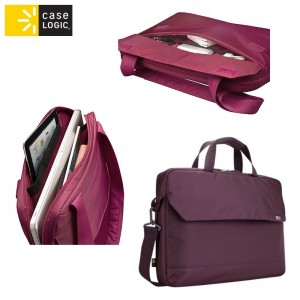 "Case Logic Torba Mobile Lifestyle 14""PC/15""Mac tote, tannin (purple)"