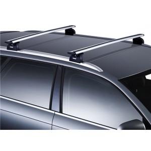 Iznajmljivanje krovnih nosača za vozila sa sankama odvojenim od krova