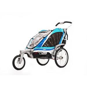 Thule kolica za decu Chariot Chinook1+Stroll/Jog, Blue