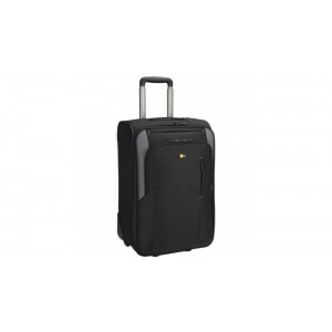 "Case Logic Travel Suitcase, 21"", black/gray"