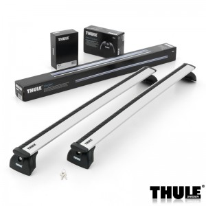 Thule krovni nosači BMW 3-serie Touring, 5-dr Estate, 10- 11with flush railing