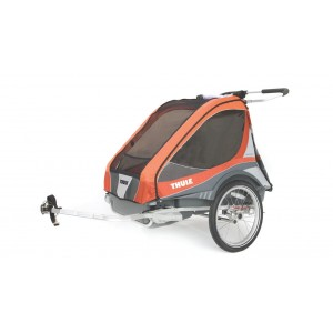 Thule kolica za decu Chariot Captain2+Cycle, Orange