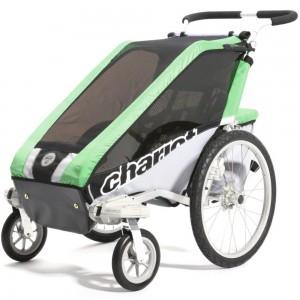 Thule kolica za decu Chariot Cheetah2+Cycle,Green