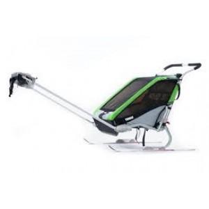 Thule kolica za decu Chariot Cheetah1+Cycle,Green