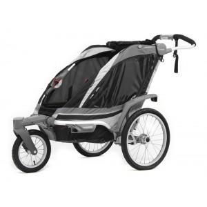 Thule kolica za decu Chariot Chinook2+Stroll/Jog,Black