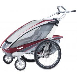 Thule kolica za decu Chariot CX1+Cycle,Burgundy