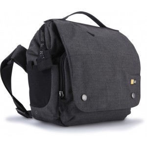 Case Logic foto Torba Reflexion lifestyle dSLR + iPad split medium cross-body bag, multiple pockets, removable camera pod, pomegranate
