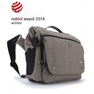 Case Logic foto Torba Reflexion lifestyle dSLR + iPad split medium cross-body bag, multiple pockets, removable camera pod, morel